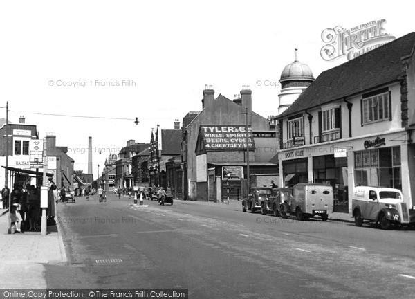 Photo of Woking, c1955