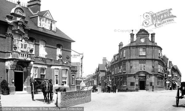 Photo of Woking, Chertsey Road 1902