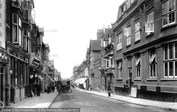 Photo of Woking, Chertsey Road 1902