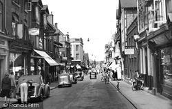 Woking, Chertsey Road c.1955