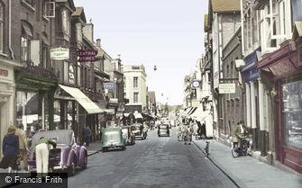 Woking, Chertsey Road c1955