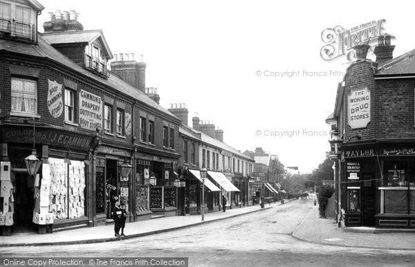 Photo of Woking, Chobham Road 1902