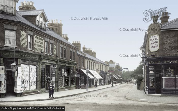 Photo of Woking, Chobham Road 1902