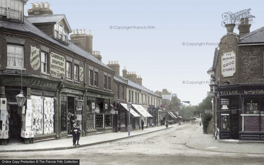 Woking, Chobham Road 1902