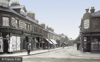 Woking, Chobham Road 1902