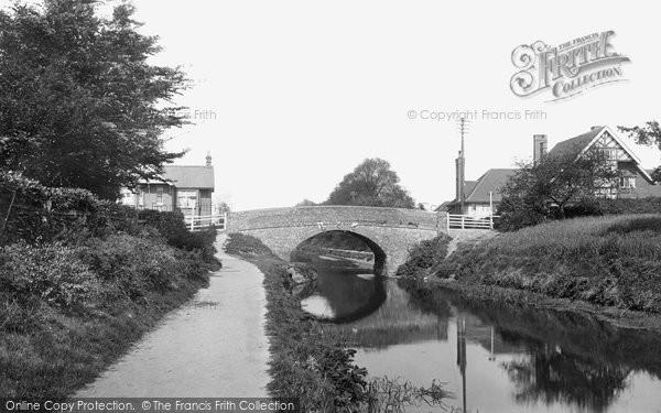 Photo of Woking, Chobham Road Bridge 1901