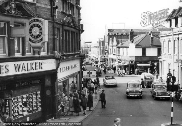Photo of Woking, Chobham Road c.1960