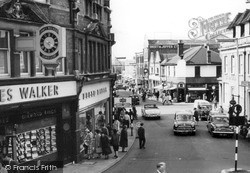Woking, Chobham Road c.1960