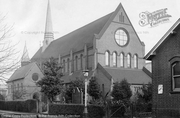 Photo of Woking, Christ Church 1902
