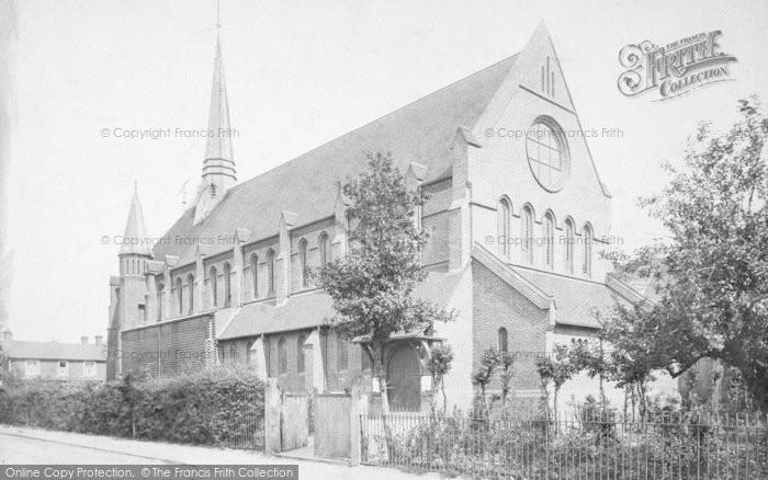 Photo of Woking, Christ Church c.1895