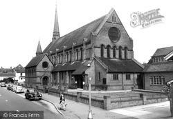 Woking, Christ Church c.1960