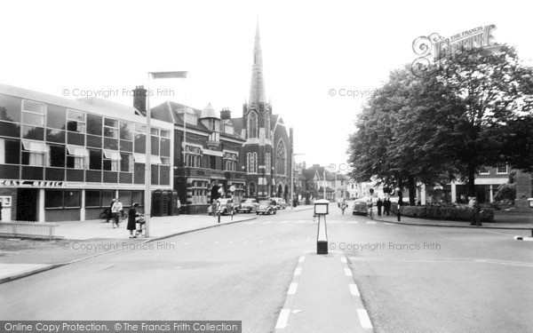 Photo of Woking, Commercial Road And Post Office c.1965