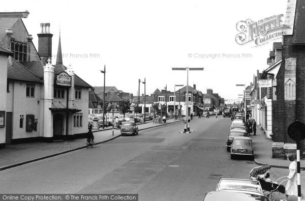 Photo of Woking, Commercial Road c.1960