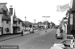 Woking, Commercial Road c.1960