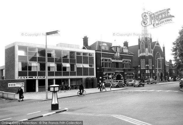 Photo of Woking, Commercial Road c.1965