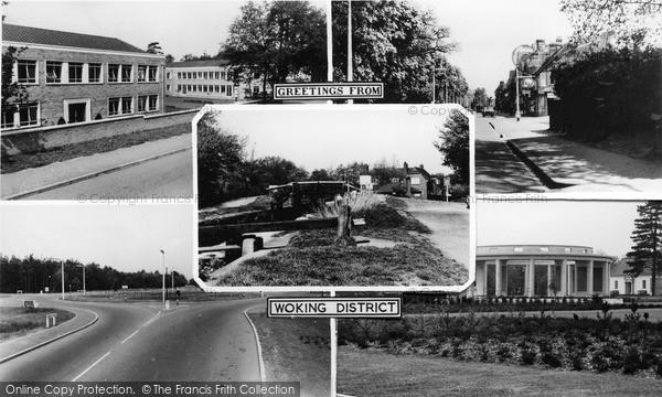 Photo of Woking, Composite c.1965