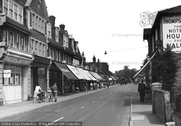 Photo of Woking, Goldsworth Road c.1955