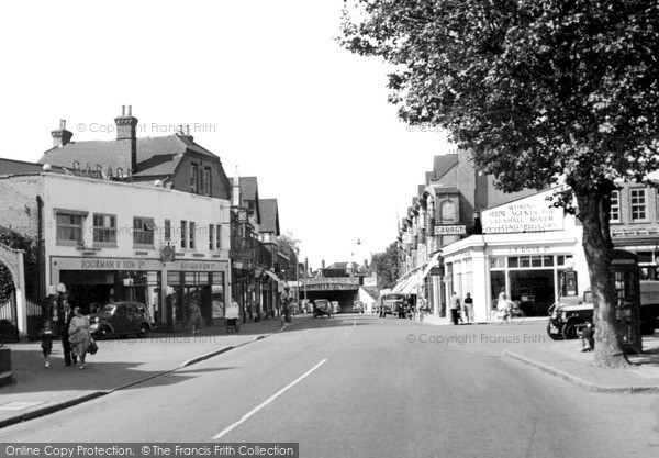 Photo of Woking, Guildford Road c.1955