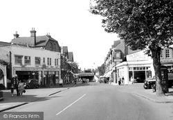 Woking, Guildford Road c.1955