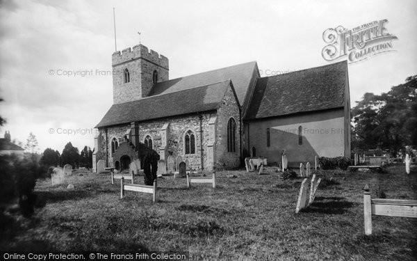 Photo of Woking, Old Woking Church 1898