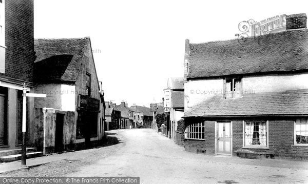 Photo of Woking, Old Woking Village 1898