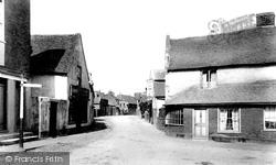 Woking, Old Woking Village 1898