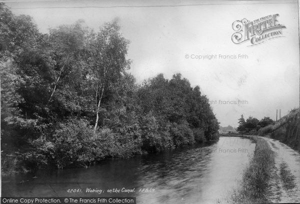 Photo of Woking, On The Canal 1898