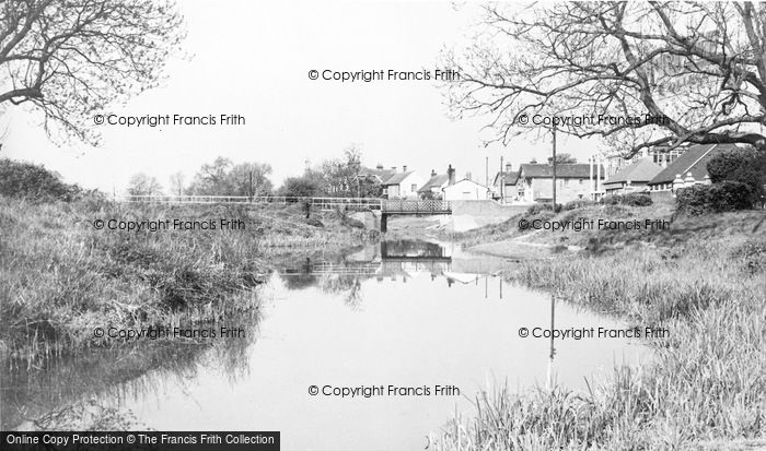 Photo of Woking, River Wey c.1960