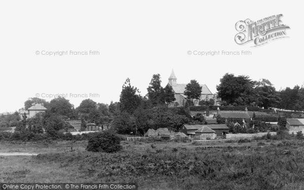 Photo of Woking, St John's Village 1898