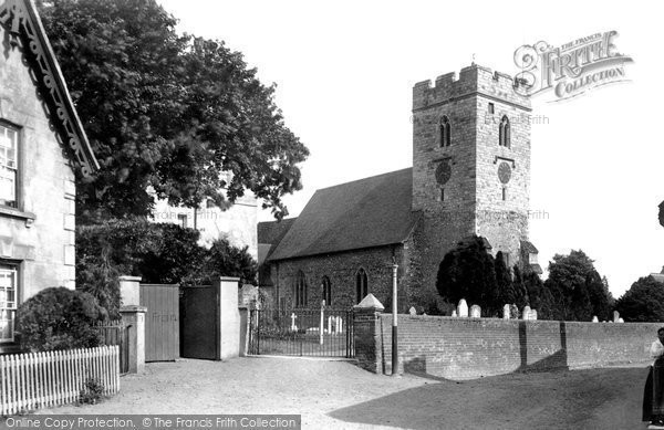 Photo of Woking, St Peter's Church 1898