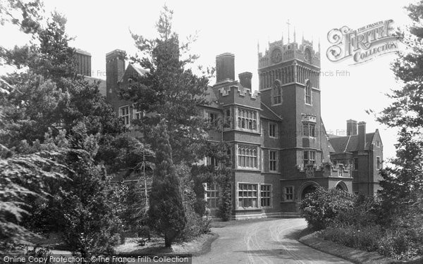Photo of Woking, St Peter's Convalescent Home 1898