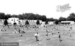 Woking, Swimming Pool c.1955