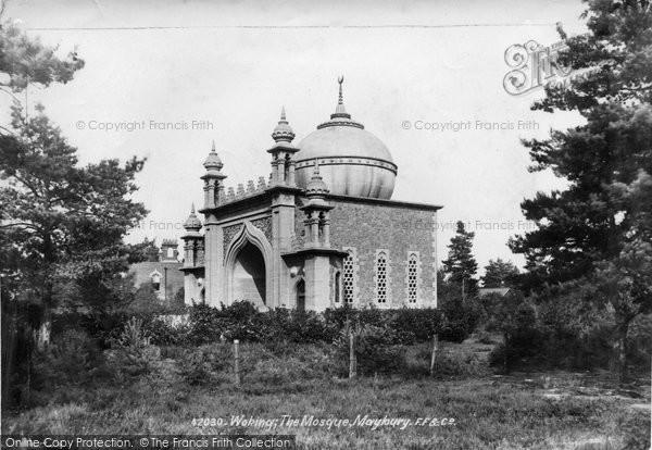 Photo of Woking, The Mosque, Maybury 1898
