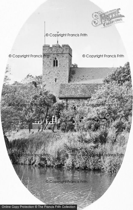 Photo of Woking, The Old Church c.1955