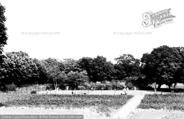 Photo of Woking, The Park c.1955