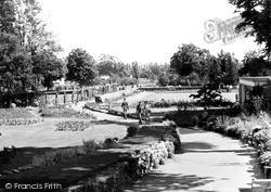 Woking, The Rock Walk, The Park c.1955