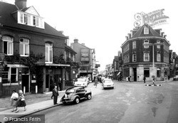Woking, The Town Centre c.1960