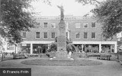 Woking, The War Memorial c.1965