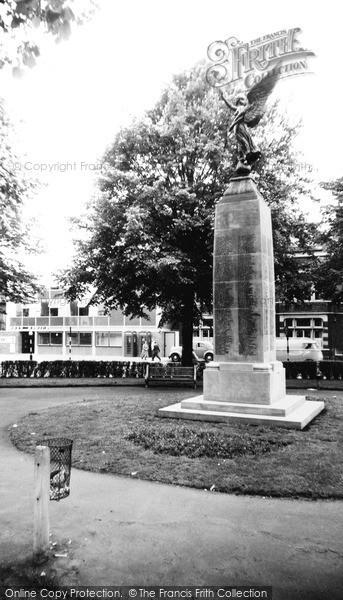 Photo of Woking, War Memorial c.1965