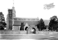 Wokingham, All Saints Church 1906