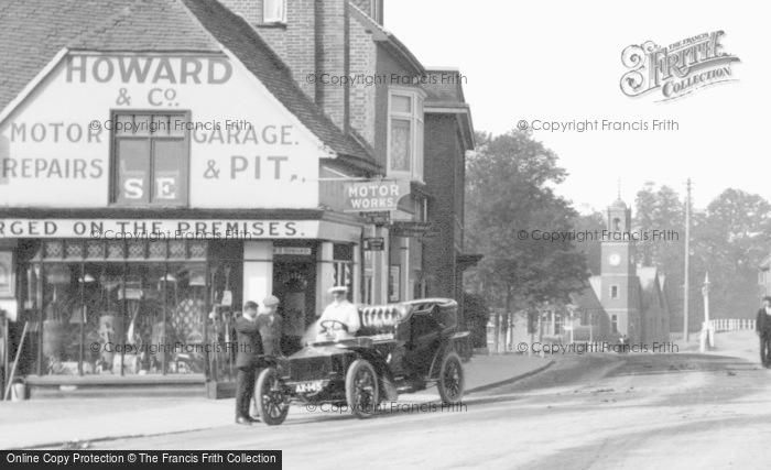 Photo of Wokingham, An Early Rolls Royce In Broad Street 1906