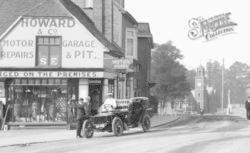 Wokingham, An Early Rolls Royce In Broad Street 1906
