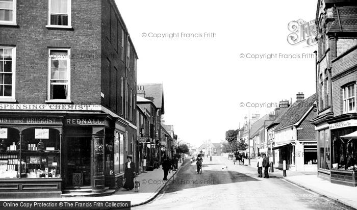 Photo of Wokingham, Broad Street 1906