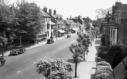 Wokingham, Broad Street c.1950