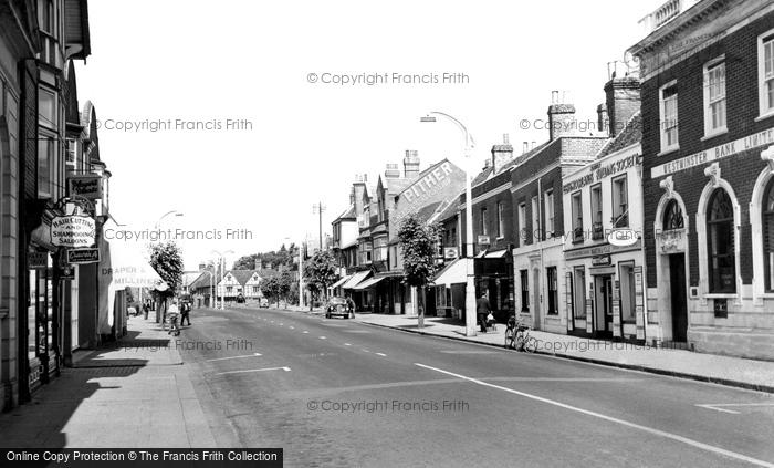 Photo of Wokingham, Broad Street c.1955
