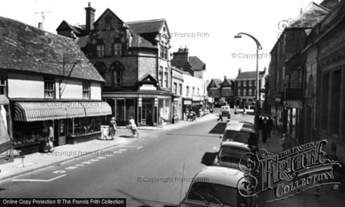 Photo of Wokingham, Broad Street c.1960