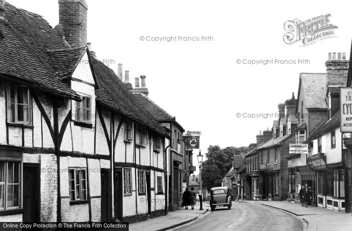 Photo of Wokingham, Denmark Street c.1955