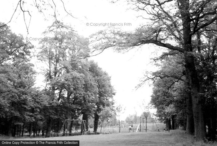 Photo of Wokingham, Joel Park c.1955
