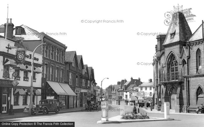 Photo of Wokingham, Market Place c.1955