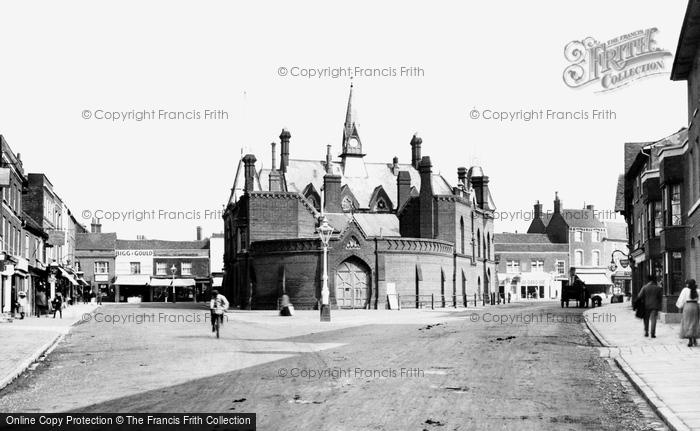 Photo of Wokingham, Market Square 1906